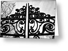 The Iron Gate Greeting Card