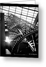 The Iron Hell Stairs Greeting Card