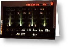 The Iron Horse Hotel Greeting Card