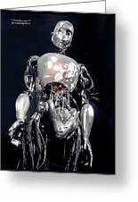 The Iron Robot Greeting Card