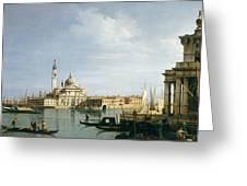 The Island Of San Giorgio Maggiore Greeting Card