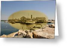 The Islander At Sakonnet Point In Little Compton Rhode Island Greeting Card