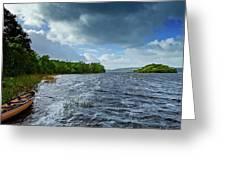 The Isle Of Inishfree...i Will Arise Greeting Card