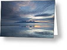 The Isle Of Rhum Greeting Card by John Potter