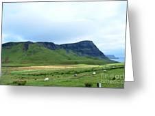 The Isle Of Skye In Scotland Greeting Card
