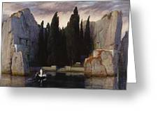 The Isle Of The Dead Greeting Card