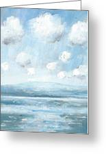 The Isle Of Wight From Portsmouth Part Seven Greeting Card by Alan Daysh