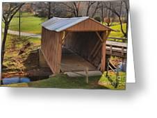 The Jacks Creek Covered Bridge Greeting Card