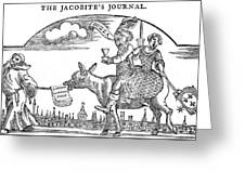 The Jacobite's Journal     Date 18th Greeting Card