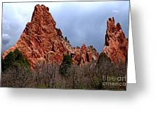 The Jagged Edges Greeting Card
