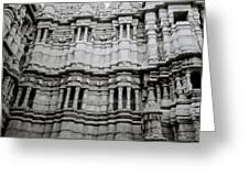 The Jain Temple Greeting Card