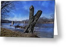 The James River One Greeting Card