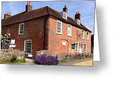 The Jane Austen Home Chawton England Greeting Card