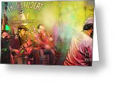 The Jazz Vipers In New Orleans 03 Greeting Card