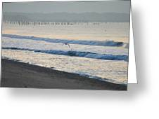 The Jersey Surf Greeting Card