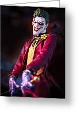 The Joker Dummy Greeting Card