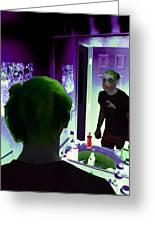 The Joker In Me Greeting Card
