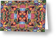 The Joy Of Design Mandala Series Puzzle 2 Arrangement 1 Greeting Card