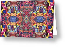 The Joy Of Design Mandala Series Puzzle 3 Arrangement 1 Greeting Card