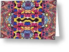 The Joy Of Design Mandala Series Puzzle 3 Arrangement 4 Greeting Card