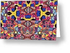 The Joy Of Design Mandala Series Puzzle 3 Arrangement 6 Greeting Card