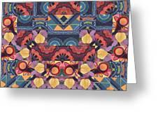 The Joy Of Design Mandala Series Puzzle 5 Arrangement 1 Greeting Card