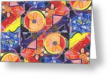 The Joy Of Design Vll Arrangement Joyful Entanglements Greeting Card
