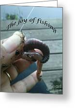 The Joy Of Fishing Greeting Card