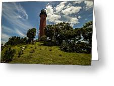 The Jupiter Inlet Lighthouse Greeting Card