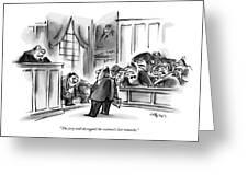 The Jury Will Disregard The Witness's Last Greeting Card