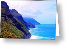 The Kalalau Trail Greeting Card