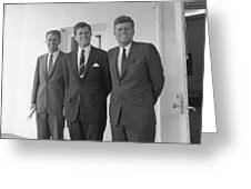 The Kennedy Brothers Greeting Card
