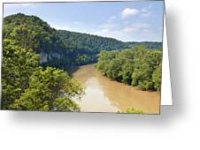 The Kentucky River Greeting Card