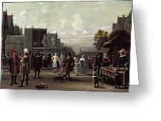 The Kermesse Greeting Card
