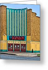 The Kessler Movie Theater Greeting Card