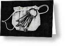 The Keys Greeting Card