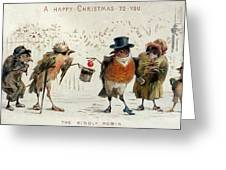 The Kindly Robin Greeting Card