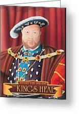 The Kings Head Greeting Card