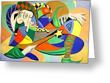 The Kings Jester Greeting Card