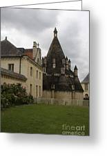The Kitchenbuilding - Abbey Fontevraud Greeting Card