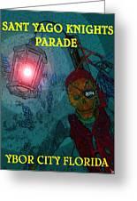 The Knights Parade Greeting Card