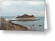 The Knob - Quissett - Cape Cod Greeting Card