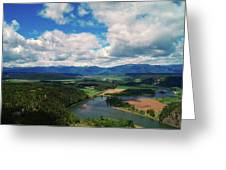 The Kootenai River Greeting Card