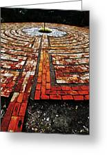 The Labyrinth Of St Luke's  Greeting Card