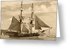 The Lady Washington Ship Greeting Card