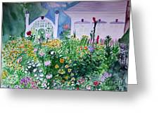 The Laine Garden Greeting Card