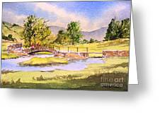 The Lake District - Slater Bridge Greeting Card