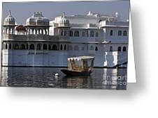 The Lake Palace, India Greeting Card