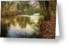 The Lambro River Greeting Card