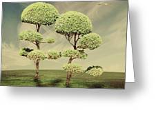 The Land Of The Lollipop Trees Greeting Card